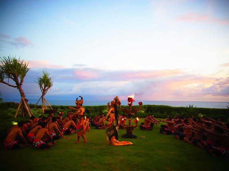 Kecak Dance at Tirtha Dining11