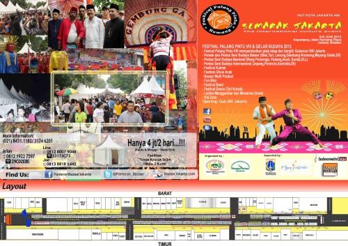 FESTIVAL PALANG PINTU VIII GELAR BUDAYA 2013