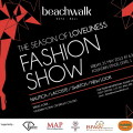 flyer beachwalk Fashion Show, 31May2013