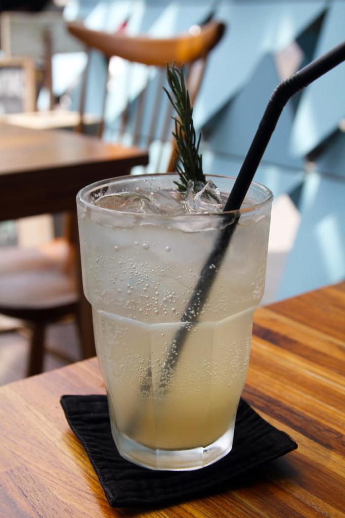 Ginger Rosemary Lemonade Rp.30,000