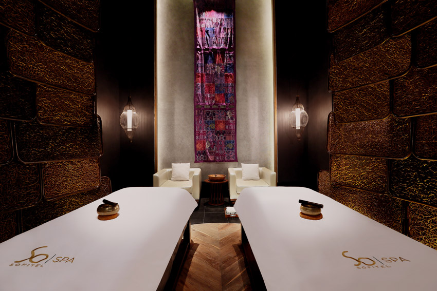 So Spa Couple treatment room