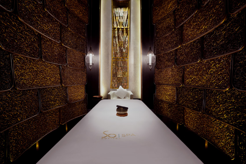 So Spa single treatment room