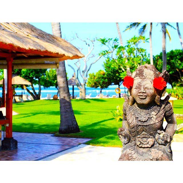 ザ・バリ島な景色をおすそ分けいたします